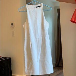 NWOT Zara white mini dress